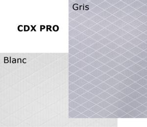 CDX PRO gris - CDX PRO Blanc